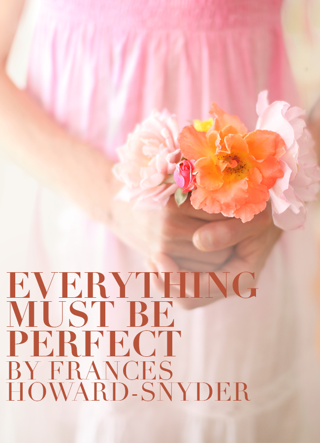 Everything Must Be Perfect Short Fiction Break